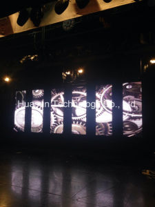 P12.5mm Flex LED Curtain Display for Stage Design