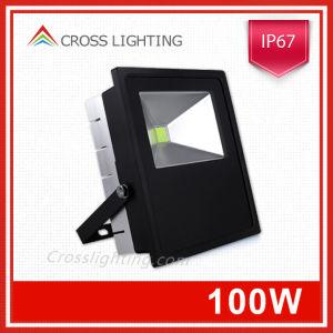 100W LED Flood Light with PIR Sensor CE UL