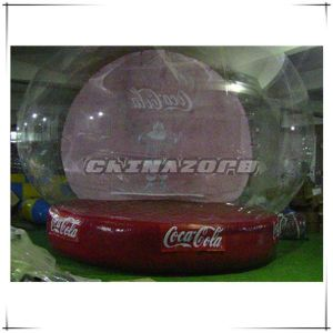 Custom Made Inflatable Christmas Snow Globe for Business Promotion pictures & photos