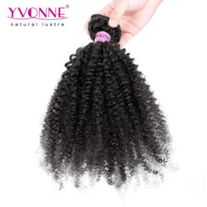 Top Grade Afro Kinky Curly Brazilian Virgin Hair pictures & photos