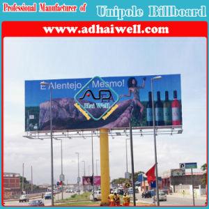 Outdoor Advertising Unipole Billboard Display in Luanda Africa pictures & photos