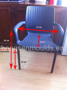 Chair Mold with Steel Leg