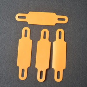Cable Label in Orange 100mm X 25mm X 1.3mm pictures & photos