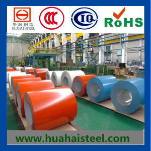 Color Coated Galvanized/Galvalume Steel in Coil pictures & photos