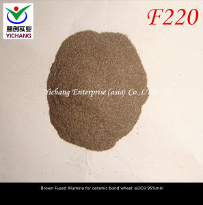 Brown Aluminum Oxide #220 for Abrasive Polishing pictures & photos
