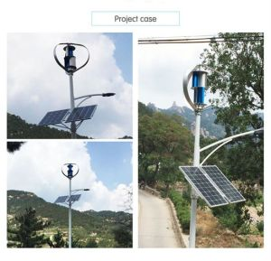 500W Best Quality Vertical Axis Wind Turbine Generator pictures & photos