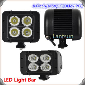 "4.6"" 40W CREE Chips Double Row LED Light Bar pictures & photos"