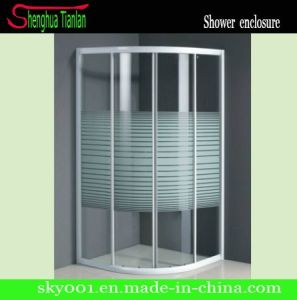 Simple Tempered Fiberglass Frameless Glass Door (TL-512) pictures & photos