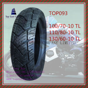 110/70-10tl, 110/80-10tl, 130/60-10tl Tubeless 6pr Nylon Motorcycle Tire pictures & photos