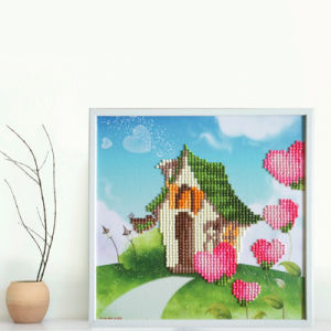 Factory Cheapest Wholesale New Children Kids DIY Embroidery Craft Cross Stitch T-139 pictures & photos
