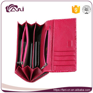 Fani High Quality Genuine Real Leather Wallet for Ladies pictures & photos