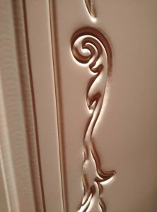Solid Wood Composite HDF Door for Hotel Apartment Villa (YMJ--088) pictures & photos