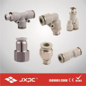 Pneumatic Fitting One Touch Without O-Ring Pipe Fitting pictures & photos
