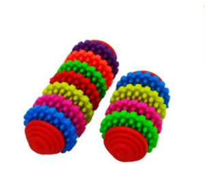 Qualified Pet Product Manufacturer From China, Colorful Rainbow Ball Dog Toy, Wholesale Pet Toy pictures & photos
