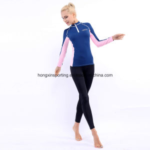 Two-Piece Rash Guard, Swimwear, Sportswear, Surfing Suit & Diving Suit pictures & photos