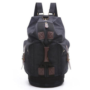 Muliti-Function Men Bags Cavans Barrel Backpack for Travel Sy7852 pictures & photos