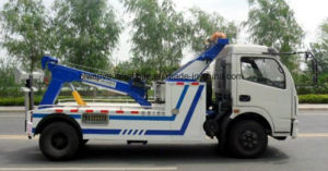 Dongfeng LHD Rhd Road Wrecker 4*2 Towing Truck pictures & photos