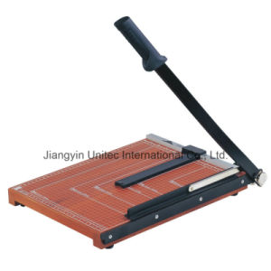 The Best Selling Products Paper Cutter Handle Manual Paper Guillotine Machine No. 828 pictures & photos