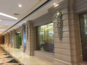Anti Skid Nano Glass Green Building Material Exterior Wall Tile pictures & photos
