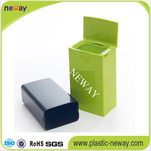 Small PP Dustbin with Cover pictures & photos
