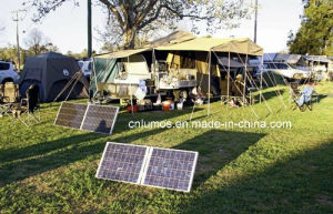 Outdoor Solar System 20W Camping Solar Kits Portable Solar