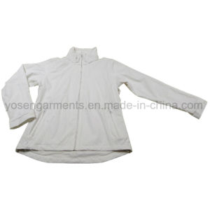 Ladies Women′s Waterproof Nylon PU Outerwear Outdoor Apparel Jacket (OSW10) pictures & photos