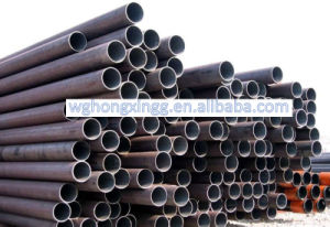 API 5L Black Iron Pipe Welded Steel Pipe and Tube for Building Material pictures & photos