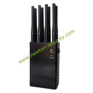 2016 New 8-Band Handheld Mobile Phone Signal Isolator GPS WiFi Signal Jammer Blocker pictures & photos