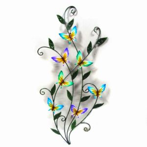Colorful Dancing Butterfly Garden Metal Decoration for Wall pictures & photos