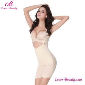 Special Design U-Back Presale Nude Zipper Lace Hem Body Shaper pictures & photos