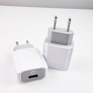 Single USB Port Wall Charger with EU US UK Plug pictures & photos