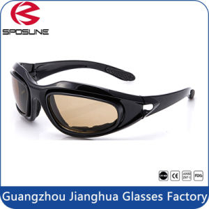 Two Lenses PC Ballistic Eye Glasses Military Sunglasses Tactical Eyeglasses pictures & photos