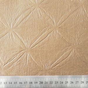 PVC Rexine Artificial Leather (HL-56) pictures & photos