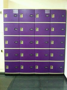 Locker Used for Storage and Cell Phone Charging pictures & photos