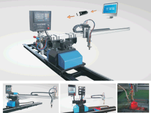 2300*7000mm Portable CNC plasma flame oxy-fuel Cutting Machine for sheet metal pictures & photos