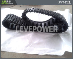 Robot Rubber Track Used in Agriculture or off-Road Car pictures & photos