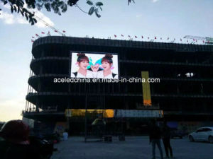 Advertising Outdoor LED Wall P6 pictures & photos