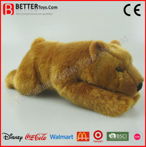 Realistic Stuffed Animal Plush Brown Bear Toy pictures & photos