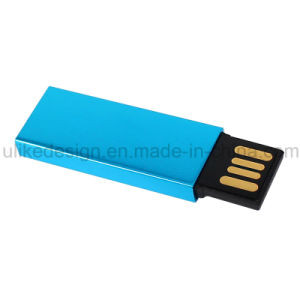 Blue Color Metal Promotion Gift USB Flash Driver pictures & photos