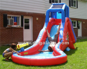 Funny Inflatable Water Slide for Family