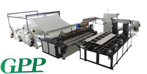 Full-Automatic Jumbo Toilet Tissue Prodution Line Machine pictures & photos