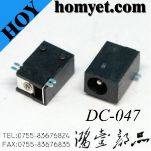 1.0/1.3mm Pin SMT DC Power Jack (DC-047) pictures & photos
