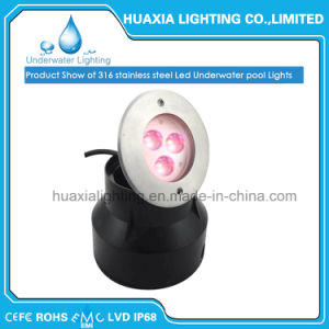 100%Waterproof Inground Underwater Recessed LED Pool Light pictures & photos