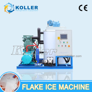 Koller 5000kg/Day Energy-Saving Flake Ice Machine with PLC Control System pictures & photos