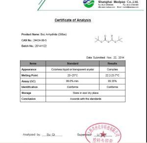 Di-Tert-Butyl Dicarbonate (DiBoc) [24424-99-5] pictures & photos