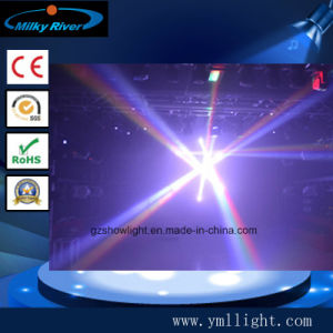 Two Side Double Beam Light with Two Face 2 PCS 10W LED Mini Moving Head Light pictures & photos