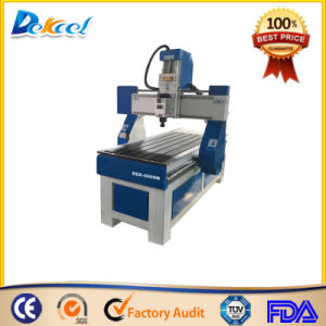 Cheap Samll Aluminum Table CNC Router Wood Engraver Router Machine pictures & photos