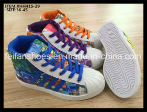 New Arrival High Cut Leisure Shoes School Shoes (XHH415-29) pictures & photos