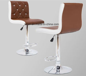 Modern Design Leather Uphystery Bar Chairs (LL-BC047) pictures & photos