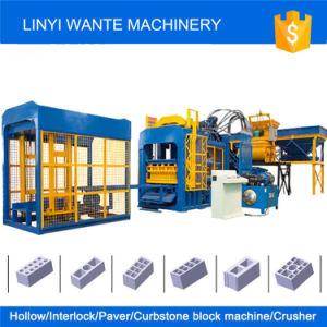 Wante Machinery Qt4-15 Curbstone/Paver/Interlocking Brick Block Machine pictures & photos